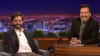 Zach Galifianakis Trolled Louis C.K. While Discussing 'Baskets' With Jimmy Fallon