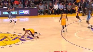 Jordan Clarkson's Awful Turnover And Embarrassing Tumble Is The Lakers' Season In A Nutshell