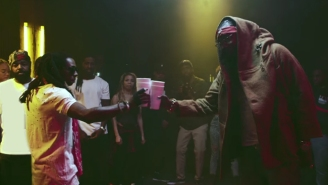 """2 Chainz And Lil Wayne Exchange Bars In The Video For """"Bounce"""""""