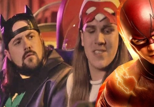 Are Jay And Silent Bob Preparing To Make A Cameo On Kevin Smith's Episode Of 'The Flash?'