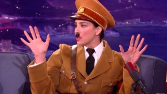 Sarah Silverman's Adolf Hitler Distances Himself From 'Crass' Donald Trump