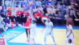 Al-Farouq Aminu's Dunk On Steven Adams Was Almost Outdone By His Screaming Celebration