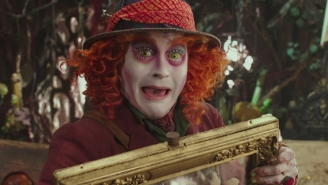 Did we really see what we just saw in the 'Alice Through The Looking Glass' trailer?