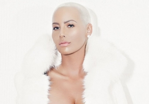 Amber Rose Freed Her Nipple For A Noble Cause
