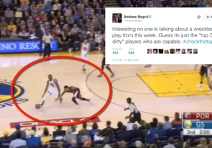 Did Andrew Bogut Covertly Call Damian Lillard Dirty? It's Way More Complicated Than That