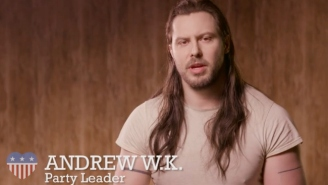 Andrew W.K. Is Founding The Party Party To Fix American Politics