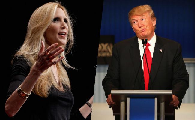 ann coulter calls donald trump mental