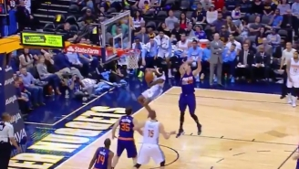 Will Barton's Double-Pump Slam Will Launch You Out Of Your Seat