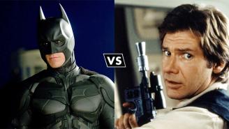 A Heroes Vs. Villains Debate: Batman vs. Han Solo