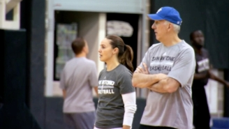 San Antonio's Groundbreaking Coach Becky Hammon Explains How Gregg Popovich 'Leaned In' For Her