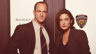 Benson And Stabler Posed For A Real Life 'Law & Order: SVU' Reunion
