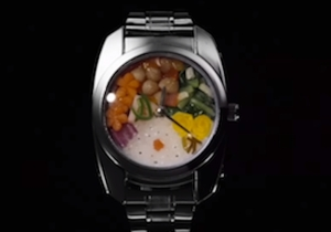 This Bento Watch Is The Only Tiny Snack Device You'll Ever Need (Or Want)