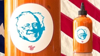 This Bernie Sanders-Themed Hot Sauce Will Have You Truly Feeling The Bern