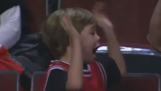 This Young Bulls Fan Is More Hyped About Free Big Macs Than You've Been About Anything
