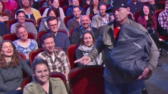 A Very Tired Bill Murray Returned To 'The Late Show' To Nap And Steal An Audience Member