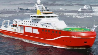 A Multi-Million Dollar Research Vessel Might Be Named 'Boaty McBoatface' Thanks To The Internet
