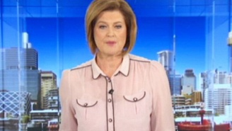 This News Anchor Wore An Awkward Blouse On Air And People Definitely Noticed