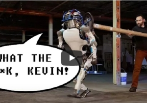 The Terrifying Atlas Robot Finally Gets A Voice, And Man Does He Hate His Coworkers