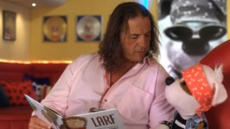 Take A Fond Look Back At Bret Hart's Best Appearance On Children's Television