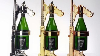 This Champagne Gun Hopes To Change The Way You Party