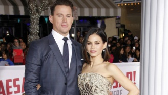 Channing Tatum And Jenna Dewan Tatum Are Dancing To TV With A Competition Series