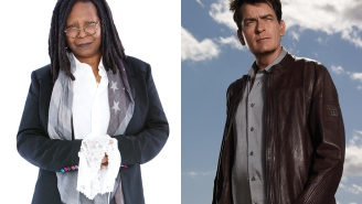 Charlie Sheen and Whoopi Goldberg in an elevator on 9/11: Yes, this is a real movie