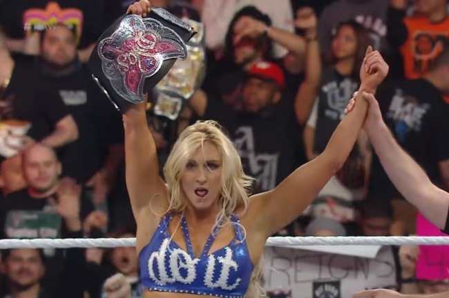 charlotte divas belt