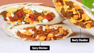 Stoners Rejoice, Because Taco Bell Has New Crunchwrap Sliders With Cheetos Now