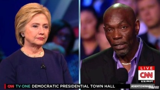 An Exonerated Former Death Row Inmate Confronts Hillary Clinton About Her Death Penalty Stance