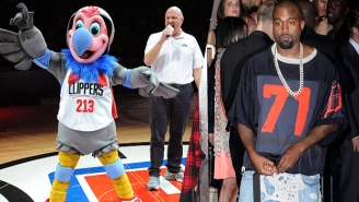Kanye West Asks Steve Ballmer If He Can Redesign The Clippers' Mascot