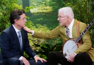 Let Steve Martin And Stephen Colbert Serenade You About Friendship
