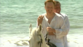 Conan O'Brien remembers Garry Shandling and their time in Hawaii