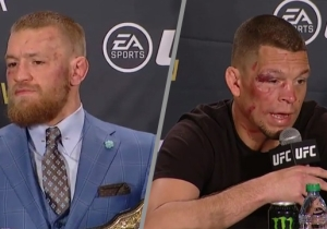Conor McGregor And Nate Diaz Discuss What's Next For Them Following UFC 196