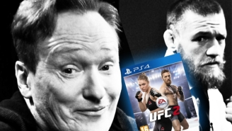The Latest 'Clueless Gamer' Features Conor McGregor Mercilessly Beating Conan In 'EA UFC 2′