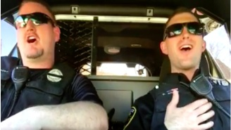 These Cops Are Trying To Keep Hope Alive By Lip Syncing 'Don't Stop Believing' By Journey