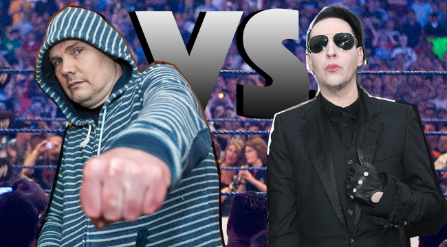 Billy Corgan vs. Marilyn Manson