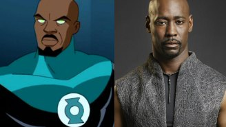 D.B. Woodside wants to be Green Lantern and why hasn't this happened yet?