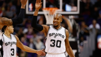 David West Said Being With The Spurs Has Been Worth 'Probably More' Than The $11 Million He Left Behind
