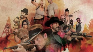 Syfy's boyband zombie western looks ridiculous and awesome