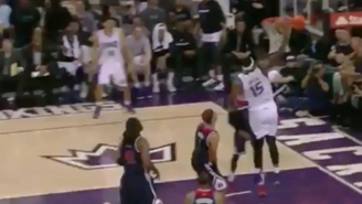 DeMarcus Cousins Broke Nene's Ankles With A Filthy Crossover En Route To The Jam