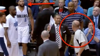 Rick Carlisle Believes Deron Williams Was Baited By The Ref Into A Technical Foul