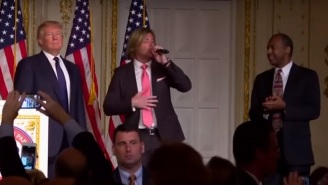 Donald Trump And Ben Carson Dancing Horribly To 'Stand By Me' Will Eat Away At Your Soul