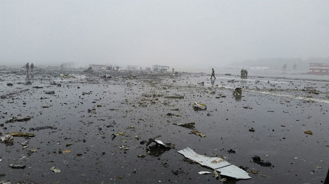 All 62 people aboard killed as Boeing 737-800 crashes in southern Russian city of Rostov-on-Don