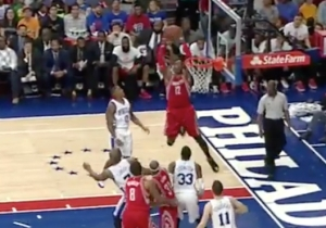 Dwight Howard Shows Off Vintage Explosion On This Two-Handed Jam From Jason Terry