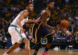 Evan Turner On Realizing He'd Have To Guard Paul George And Kevin Durant: 'Oh Sh*t'