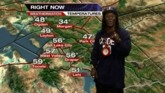 Say Hello To 'Flavor Flav: Unlikely Salt Lake City Weatherman'