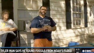 Did This Guy Really Find Fossils From Noah's Flood In His Texas Front Yard?