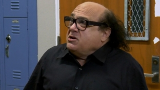 Danny DeVito Knows About That Shrine To Him Hidden In A School's Bathroom