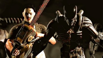 Brace Yourself For Every Gloriously Gory Leatherface And Alien Fatality From 'Mortal Kombat X'