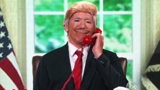 'Dancing With The Stars' Featured Geraldo Rivera As A Nightmarish Donald Trump